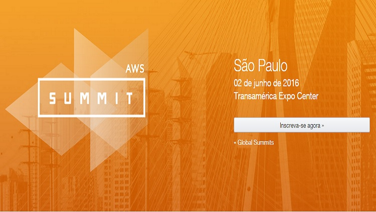 Evento: AWS Summits 2016