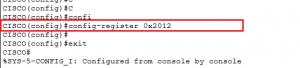 Alterando a ordem de boot para inicializar corretamente