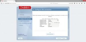 Teste conexao mysql zabbix