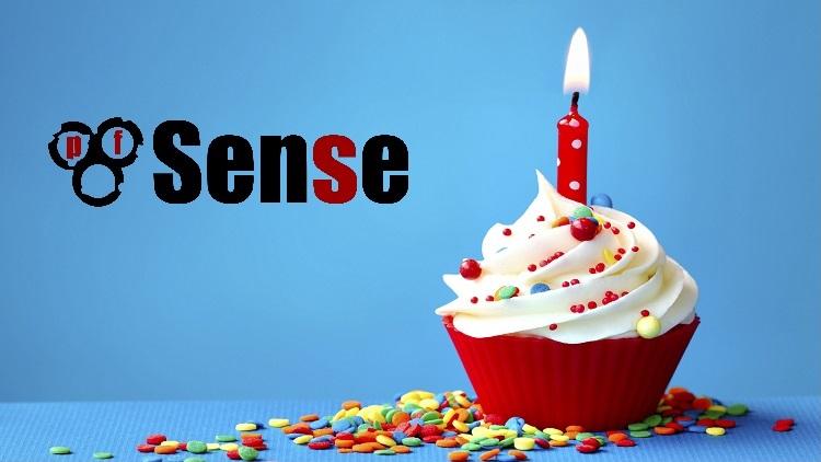 Aniversário de 10 anos do pfSense